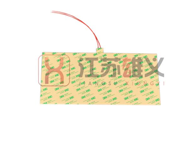 带3M胶硅橡胶加热片