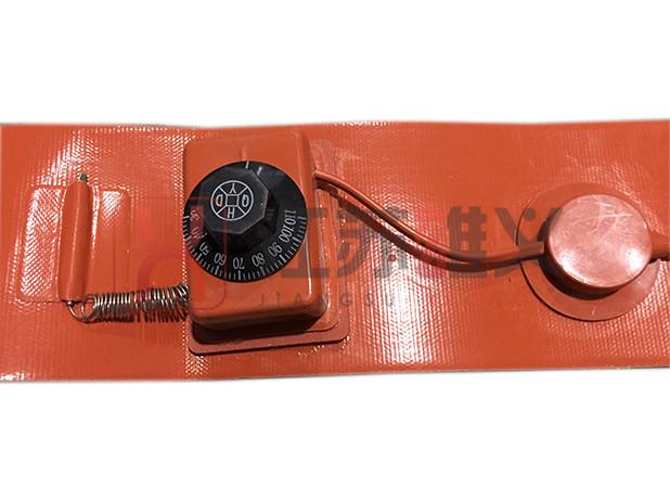 旋钮温控硅橡胶加热带